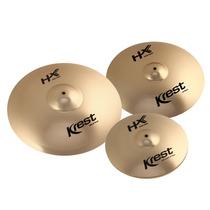 Set Pratos Krest Hx Series 14/16/20 + Splash 10 E Bag