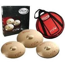 Kit De Pratos Orion Revolution Pró Rb70 Com Bag Frete Gr 12x