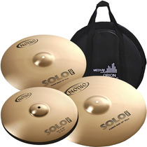 Kit Pratos Orion Solo Pro Pr90 Power Crash 14 16 20 C/bag!