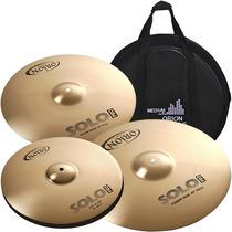 Kit Pratos Orion Solo Pro Pr90 14 16 20 Com Bag 12x S/juros!