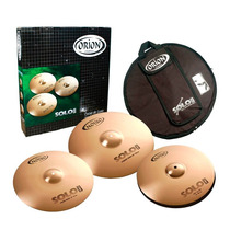 Kit De Pratos Orion Solo Pro Pr90 Set Na Cheiro De Música !!