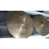 Chimbal Zildjian A Quick Beat Hi Hat 14 Par Perfeito