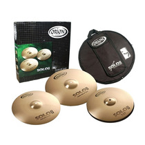Set De Pratos Orion Solo Pro Pr90- 14 / 16 /20 Com Bag