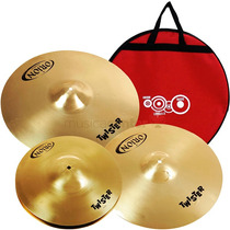 Kit Prato Bateria Orion Twister Twr75 Set 13 16 18 Com Bag