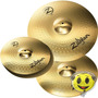 Kit Prato Zildjian Planet Z Plz4pk Set 14 16 20 Top Oferta