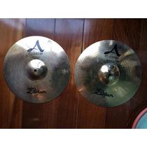 Prato Chimbal Zildjian A Custom Hit-hat 14