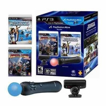 Playstation Move Ps3 - Pronta Entrega - Kit Completo