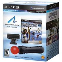 Kit Move Completo Com Jogos Playstation 3 - Ps3 Frete Gratis
