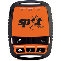 Spot Gen 3 Rastreador Via Satélite Preto/laranja Sms S.o.s