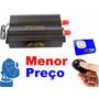Rastreador Gps Bloqueador Veicular Tk-103b Chip C/ Controle