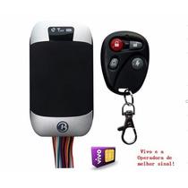 Rastreador Bloqueador Veicular Tk303 G Moto Carro Coban Fio