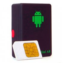 Mini A8 Escuta Espiã Gsm Localizadora Gps Celular Envio Já
