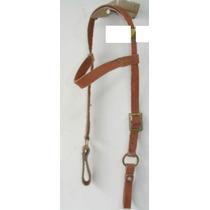 Cabeçada Em Couro (cavalo Mula) Rodeio