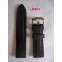 Pulseira Armani Borracha Relógio Ar0527 Ar0595 22mm Outros