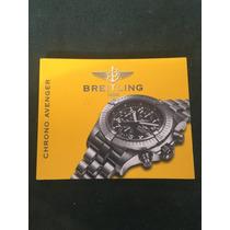 Manual Breitling Chrono Avenger - Original
