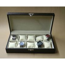 Estojo 10 Relógios, Porta Relógio, Caixa Relógio, Promoção !
