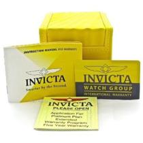 Caixa De Invicta 65,00 Completa Manual, Card E Certificado.
