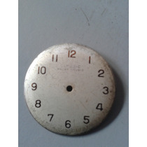 Mostrador Antigo Relógio Classic 7 Rubis 30mm Swiss