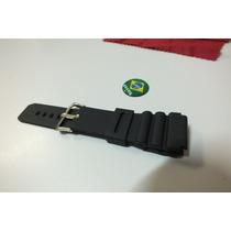 Pulseira Relógio Citizen Ou Casio 22 Mms (borracha)