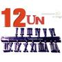 12 Números Romanos 1 A 12 Injetado Abs P/ Relogio De Parede