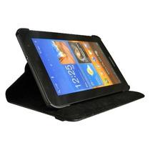 Capa Giratória Couro Tablet Samsung Galaxy Tab2 7 + Película