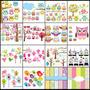 16 Kits Scrapbook Digital Corujinha E Passarinhos