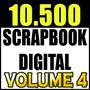 10.500 Kits Scrapbook Digital Papéis Fotoproduto Vol.4
