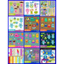 10 Kits Scrapbook Digital Monstros S.a Universidade Monstros