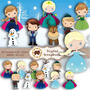 Complemento Kit Scrapbook Digital - Frozen