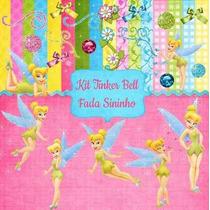 Kit Digital Tinker Bell Fada Sininho