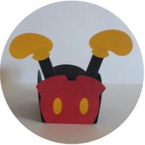 Arquivo De Corte Para Silhouette - Forminhas Mickey E Minnie
