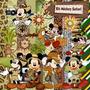 Kit Scrapbook Digital - Mickey Safari