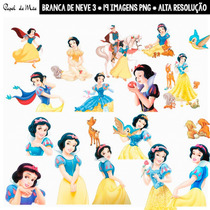 Branca De Neve Kit Digital Imagens Png (3)