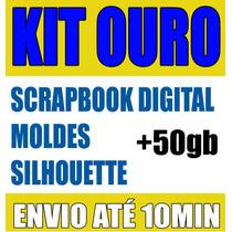 Scrapbook Digital Carrossel + Kit Ouro