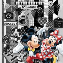Super Kit Scrapbook Digital Minnie E Mickey (582 Imagens)