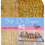 Kit De Papéis Rústico Egito Papiro Scrapbook Digital