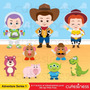 Kit Scrapbook Digital Toy Story 3 Imagens Clipart