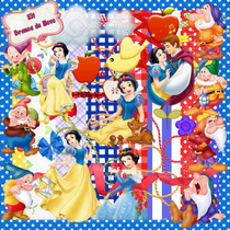 Kit Para Scrapbook Digital Branca De Neve