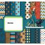 Kit Scrapbook Digital Merida Valente