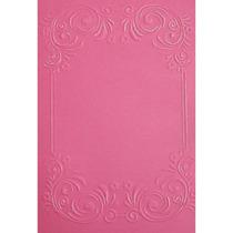 Placa Para Textura 10,5x15cm Sizzix Boutique Moldura Ii