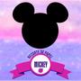 100 Mini Recortes Cabecinha De Mickey