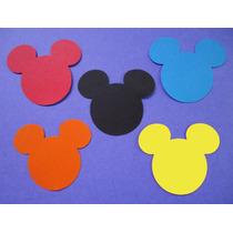 100 Recortes/apliques Mickey De Scrap