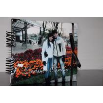 Álbum Fotos Scrapbook Casal Namorados Personalizado C/ Foto