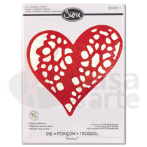 Faca De Corte Sizzix Doily, Laced With Love - 658911