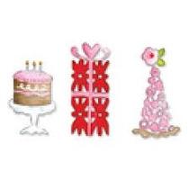 Faca Sizzix Sizzlits Longa Cake, Gift & Party Hat