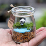 Estranhas Presente Casa Garrafas De Vidro Criativas Res Ecol