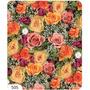 25 Folhas De Papel Presente 96cmx66cm Flores 505