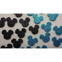 Apliques Em Eva Mickey (2,5 Cm) 100 Unidades