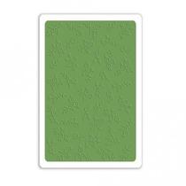 Placa De Textura Sizzix - Embossing Folder - Mini Flores