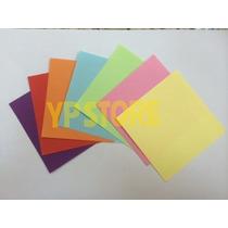 Papel Para Origami (dobradura) 9x9cm Colorido
